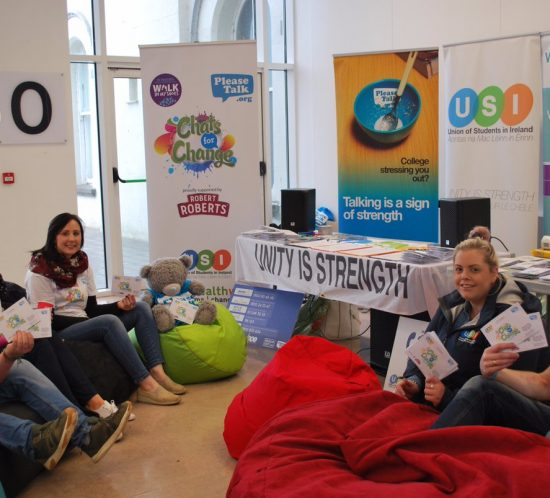 Thousands of 'Chats for Change' packs distributed to Irish universitie